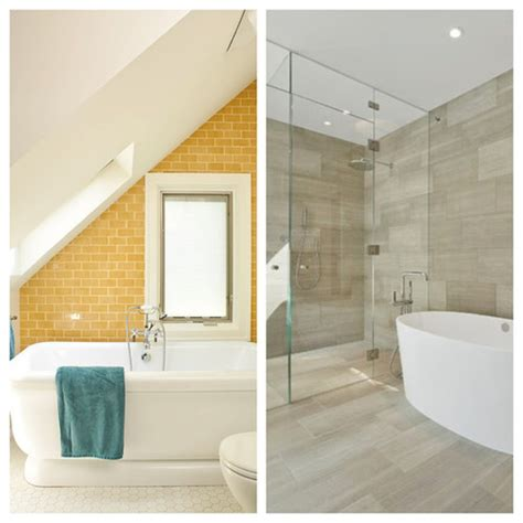 Neutral Colored Bathrooms by Colored Vs Neutral Bathroom Tile