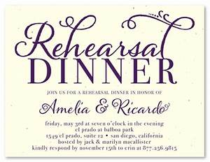 unique rehearsal dinner invitations on seeded paper at With samples of wedding rehearsal dinner invitations