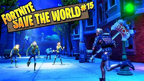fortnite zombies save  world ep   map