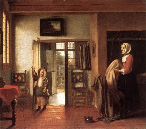 la chambre des biographie et œuvre de pieter de hooch 1629 1684