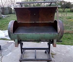 Comment Nettoyer Une Grille De Barbecue Tres Sale : barbecue sur remorque avec cuve de compresseur you barbecue ~ Nature-et-papiers.com Idées de Décoration