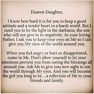 letter to my daughter quotes quotesgram With letters to your daughter