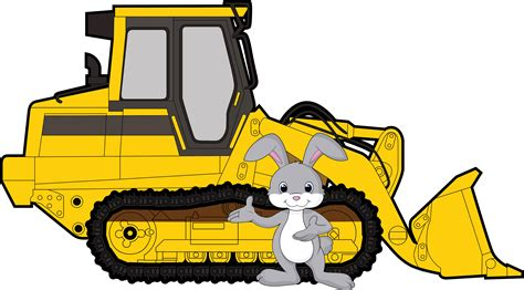 Insurance for commercial and businesses throughout nj. bunny with bulldozer | Franchino Insurance