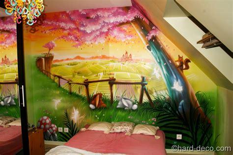 deco chambre fee peinture chambre fille princesse