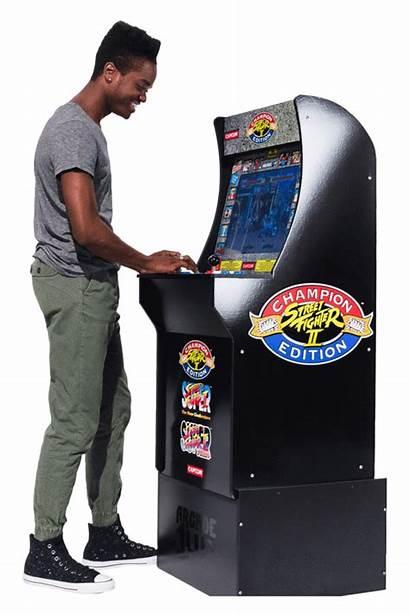 Fighter Street Cabinet Arcade1up Arcade