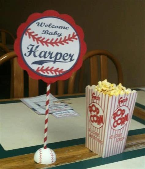 baseball baby shower decorations baseball baby shower table decorations most reproducibles