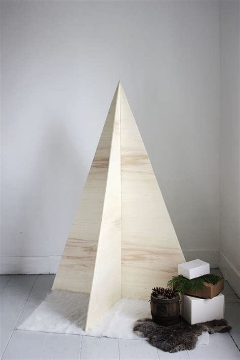 diy plywood christmas tree 187 the merrythought