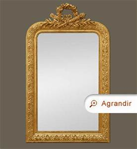Miroir Doré Ancien : miroir ancien coquille napol on iii miroirs anciens ~ Teatrodelosmanantiales.com Idées de Décoration