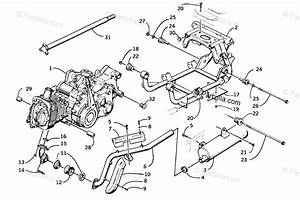 Arctic Cat Atv 2001 Oem Parts Diagram For Engine And Related Parts
