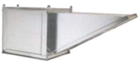 Ventilation Direct::10' Wall Canopy Hood, Fan, Supply Fan