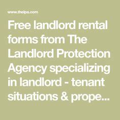 landlord protection agency free forms when a tenant misbehaves or causes complaints landlords