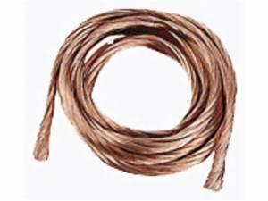 Cable De Terre 25mm2 : cuivre nu multibrin c ble rigide 25mm2 terre ou masse ~ Dailycaller-alerts.com Idées de Décoration