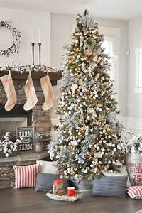 Kara's Party Ideas Farmhouse Christmas Tree | Michaels ...