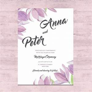 floral wedding card design vector free download With wedding cards photo editor