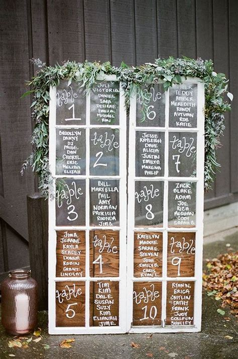 diy wedding decoration ideas  vintage windows