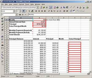 mortgage amortization spreadsheet With monthly amortization schedule excel template