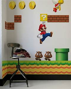 video game wall decals the awesomer With awesome video game wall decals