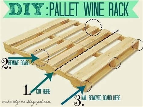 how to make a wine rack out of a pallet pallet wine rack are easy the whoot