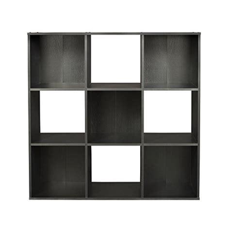 Closetmaid Black - closet cubeicals 9 cube shelving storage organizer