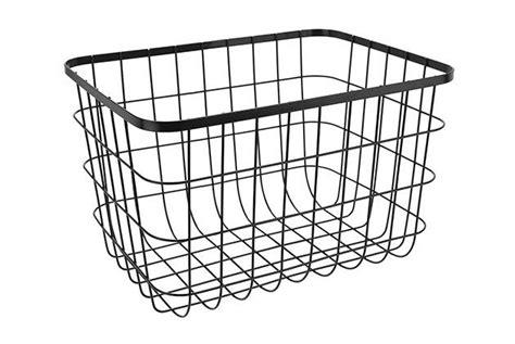 sainsburys home helsinki wire basket large black