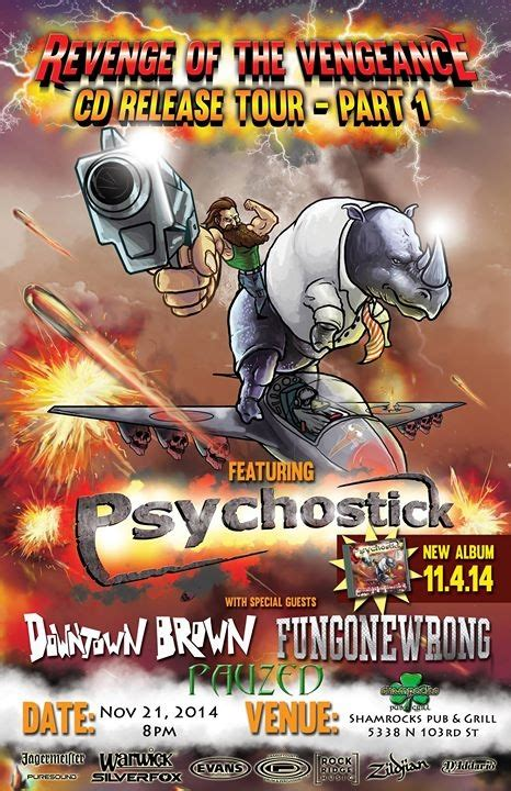 psychostick cd release   downtown brown