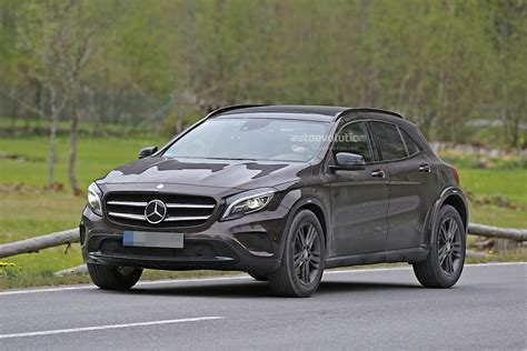 Mercedes-benz Is Testing Upcoming Glb, Spyshots Reveal
