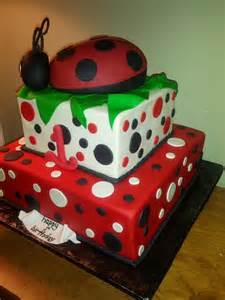 bug cakes ladybug cake 2 cakes