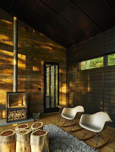 rustic modern cabin inspired  japanese bungalows