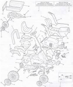 Peg Perego John Deere Power Loader Parts