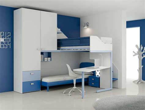 chambre en mezzanine chambre enfant lit avec mezzanine en bois sur