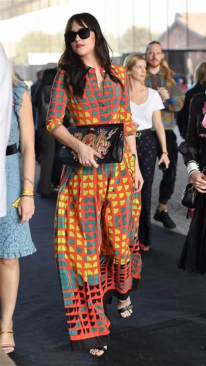 Johnson Dakota Gucci Row Vogue Milan Spring