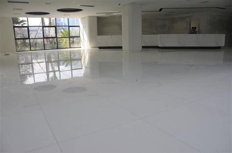 Artificial White Marble Floor Tile(id:8065209) Product