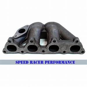 Honda Civic Crx 88 D16 Cast Iron Turbo Manifold