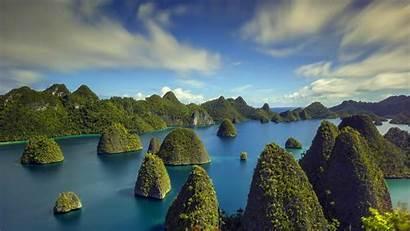 Nature Tropical Landscape Indonesia Beach Sea Cliff