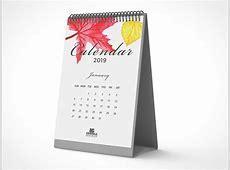 Calendar PSD Mockups