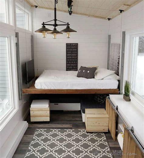 genius tiny house  full  diy transforming furniture