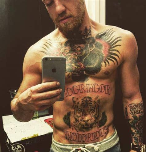 les tatouages de conor mcgregor