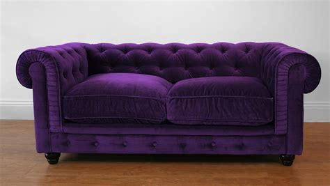 purple velvet chesterfield sofa perfect purple couch beauty pinterest purple