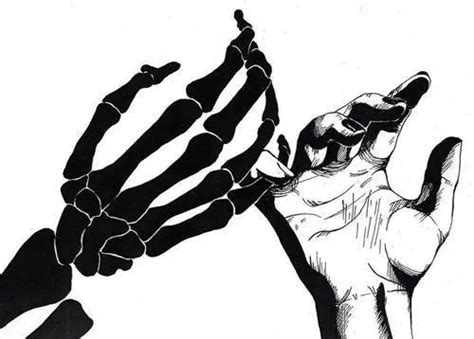Scary Death Black And White Creepy Hands Dark Monochrome