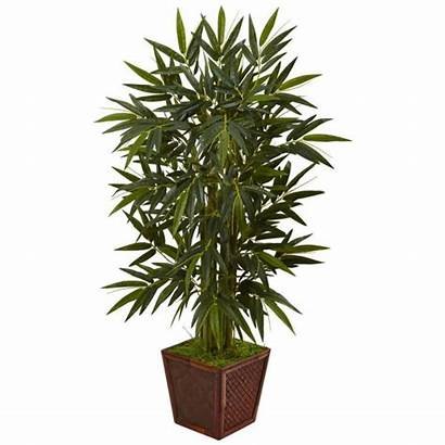 Bamboo Indoor Artificial Tree Natural Plant Square