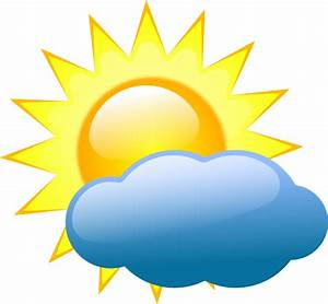 Best Partly Cloudy Clipart #10533 - Clipartion.com
