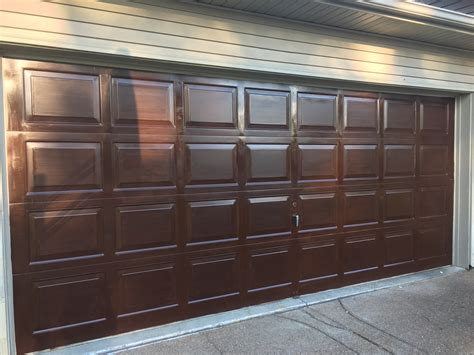 gel stain garage door refinish crochet  creations
