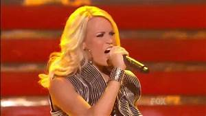 Carrie Underwood / Undo It (Live Performance at American ...
