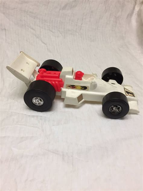 tim mee toys processed plastic  toy indycar race car