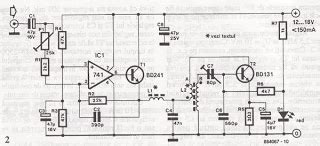 Wireless Microphone Transmitter Receiver Circuit
