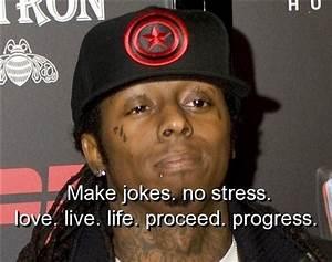 lil wayne, quot... Stress Rap Quotes