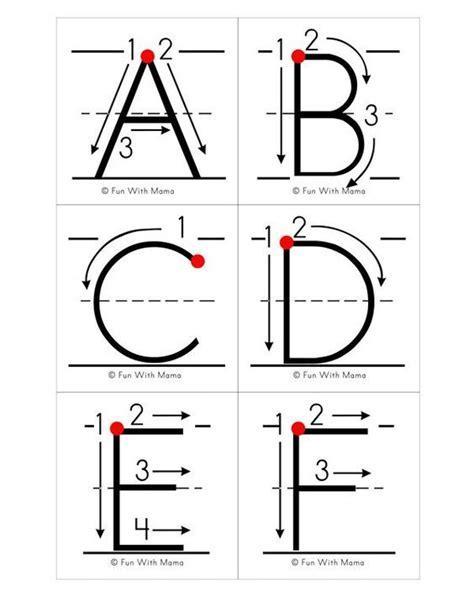 printable alphabet letters ideas  pinterest