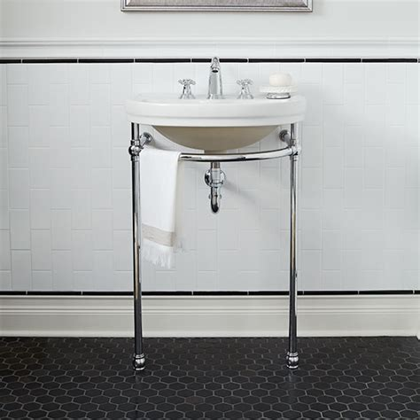 designer bathroom faucets bathroom console sink st george console lavatory by dxv