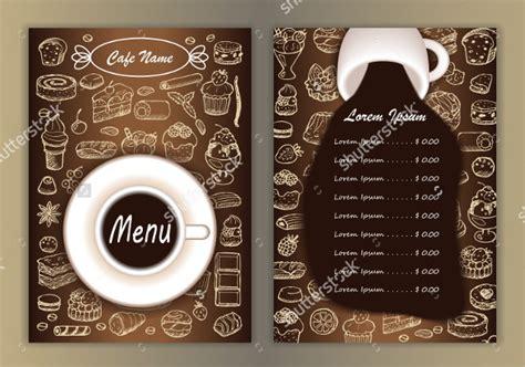coffeecafe menu templates  psd eps documents