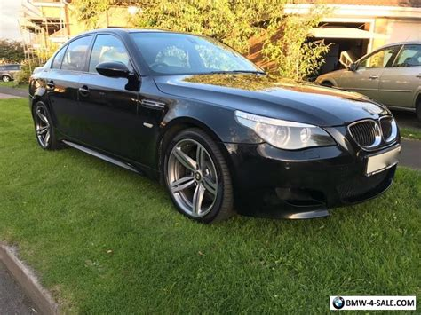 Bmw M5 E60 For Sale by 2006 Saloon M5 For Sale In United Kingdom